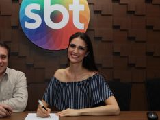 Chris Flores, já no SBT, avalia Record, antiga emissora: 'Não podia fazer nada'