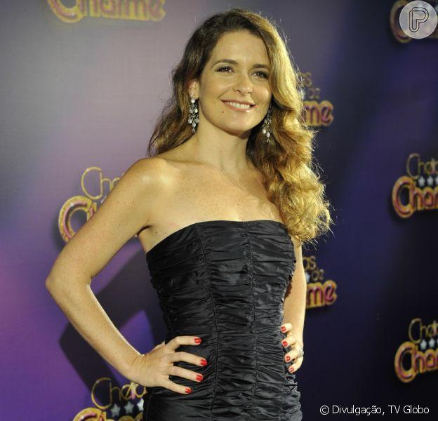 Cláudia Abreu estará no ar na próxima novela das sete, 'Geração Brasil', como informou a colunista Regina Rito, do jornal 'O Dia'