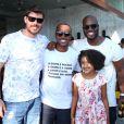 Famosos prestigiam festa de aniversário de 34 anos do ator Rafael Zulu, que aconteceu neste domingo, 11 de setembro de 2016, em um clube na Barra da Tijuca, Zona Oeste do Rio