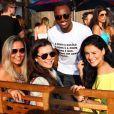 A festa de Rafael Zulu aconteceu neste domingo, 11 de setembro de 2016, em um clube na Barra da Tijuca, Zona Oeste do Rio