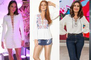 Bruna Marquezine, Marina Ruy Barbosa e mais famosas usam looks trançados. Fotos!
