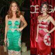 Marina Ruy Barbosa apostou em um look idêntico ao de Debora Nascimento em evento nesta terça-feira, dia 13 de setembro de 2016