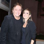 Fábio Jr. leva a namorada, Maria Fernanda Pascucci, à pré-estreia de musical