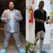 Tiago Abravanel repete pantufa usada por Lucas Lucco em show no Rio. Fotos!