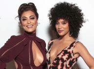 Juliana Paes e Sheron Menezzes usam looks decotados em evento em NY. Fotos!