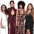 Samantha  Schmutz, Juliana Paes, Sheron Menezzes e Elba Ramalho posaram juntas para as fotos no evento de gala