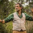 Na novela 'Velho Chico', Santo, personagem de Domingos Montagner também desapareceu no rio São Francisco após sofrer um atentado