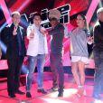 Técnicos Lulu Santos, Claudia Leitte, Daniel e Carlinhos Brown e os apresentadores Tiago Leifeert e Miá Melo montam o time da segunda edição do The Voice Brasil