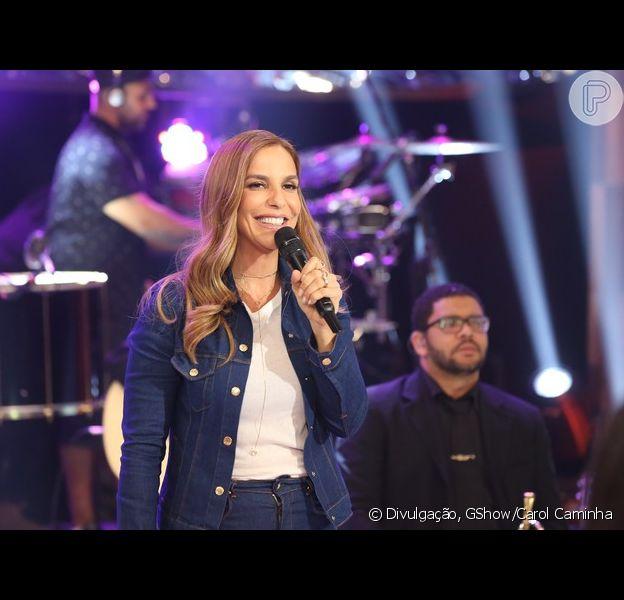 Ivete Sangalo participou do programa 'Altas Horas' deste sábado, 17 de setembro de 2016