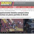 O espanhol 'Mundo Deportivo' lembrou que o local onde ocorreu a 'batalha', Curitiba, é mesmo local onde a Espanha e a Austrália medirão forças na Copa do Mundo de 2014