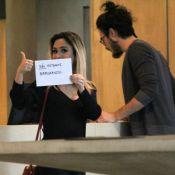 Tatá Werneck é clicada com Tiago Iorc no cinema e avisa: 'Não estamos namorando'