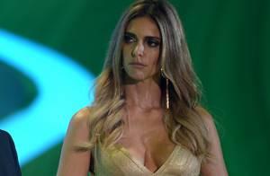 Decote de Fernanda Lima impede Irã de assistir ao sorteio de grupos da Copa