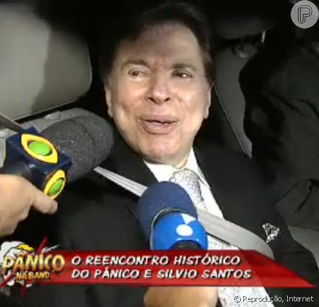 Silvio Santos falou ao programa 'Pânico na Band' de domingo, 8 de dezembro de 2013, sobre a emoção de casar Silvia, sua filha número 2, como ele costuma dizer: 'Fiquei muito emocionado, quase que eu desmaio. Me deu taquicardia'