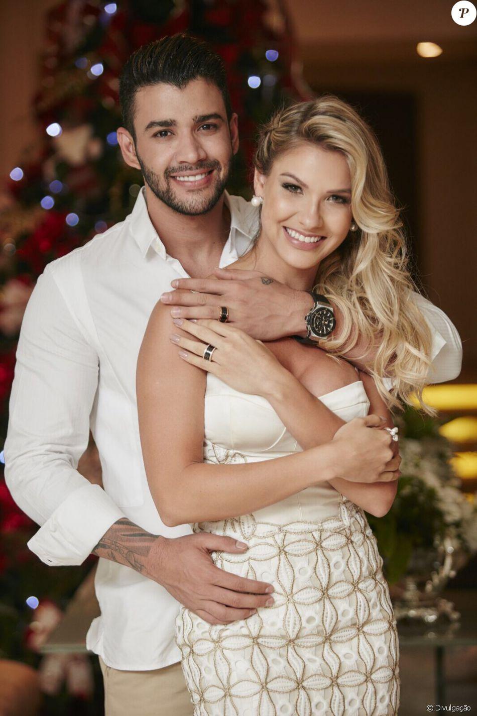Gusttavo Lima e Andressa Suita farão festa de casamento no dia 3 de outubro de 2016 numa fazenda em Minas Gerais