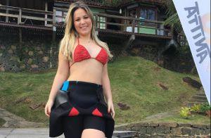 Ex-BBB Cacau comemora mudança no corpo após perder 10 kg: 'Sempre desejei'