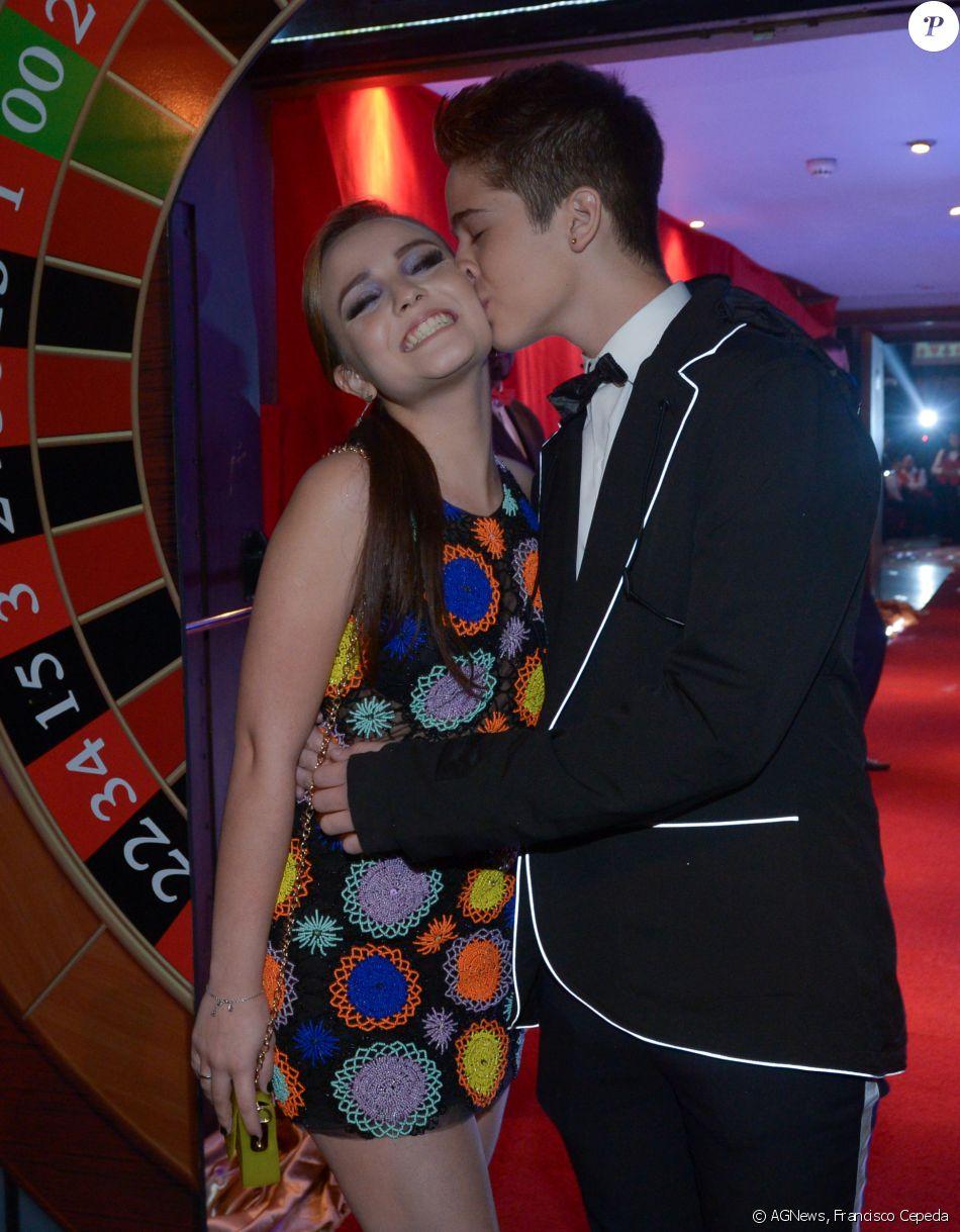 João Guilherme também contou detalhes de como foi o primeiro beijo dado em  sua namorada, Larissa Manoela   Foi tudo meio corrido, de última hora  073dffa607