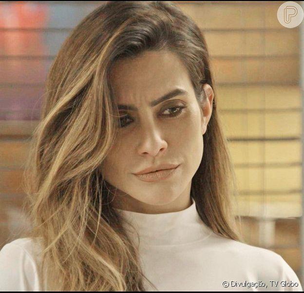 Tamara (Cleo Pires) se descontrola ao saber que Beto (João Baldasserini) decidiu terminar o namoro com Tancinha (Mariana Ximenes), na novela 'Haja Coração', a partir de 29 de setembro de 2016