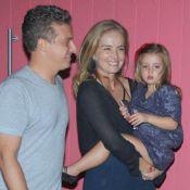 Luciano Huck mostra foto da filha, Eva, que faz aniversário de 4 anos:'Princesa'