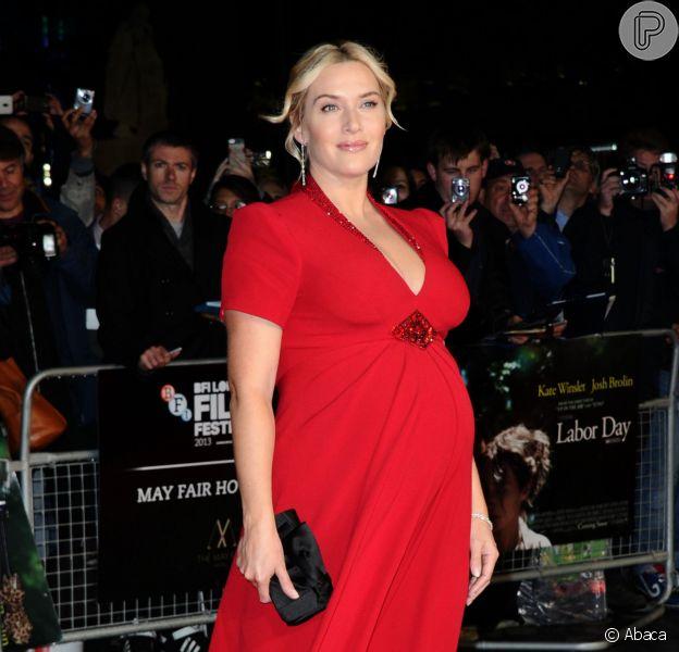 Kate Winslet deu à luz seu terceiro filho, o primeiro com o músico Ned Rocknroll, no sábado, 7 de dezembro de 2013, no Reino Unido