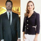 Danilo Gentili e Rachel Sheherazade negam romance: 'Amigos, nada além disso'