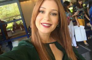 Marina Ruy Barbosa festeja 15 milhões de seguidores no Instagram: 'Amei!'