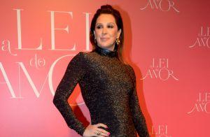 Claudia Raia comenta força de Edson Celulari em luta contra câncer: 'Confiante'