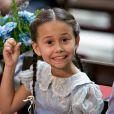 Confirmada no 'Dancinha dos Famosos', do 'Domingão do Faustão', Nathalia Costa interpretou Alice em 'Êta Mundo Bom!', novela em que contracenou com Xande Valois