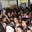 Biel causou tumulto na inauguração da loja Kings nesta quarta-feira, 28 de setembro de 2016