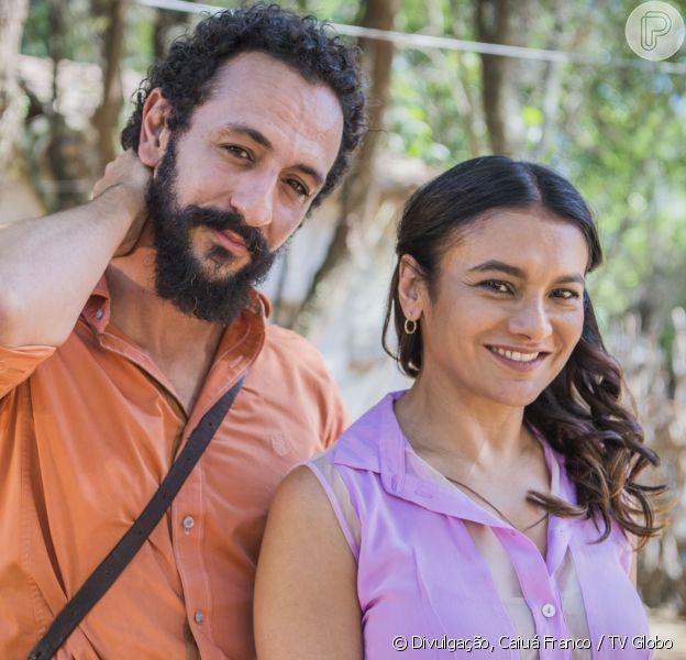 Beatriz (Dira Paes) e Bento (Irandhir Santos) vão dar ao filho o nome de Martim (Lee Taylor), no final da novela 'Velho Chico', em 30 de setembro de 2016