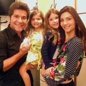 Daniel, pai de Lara e Luiza, planeja terceiro filho: 'Quarto pronto'