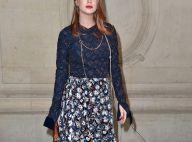 Marina Ruy Barbosa aposta em look Dior para conferir desfile da grife em Paris