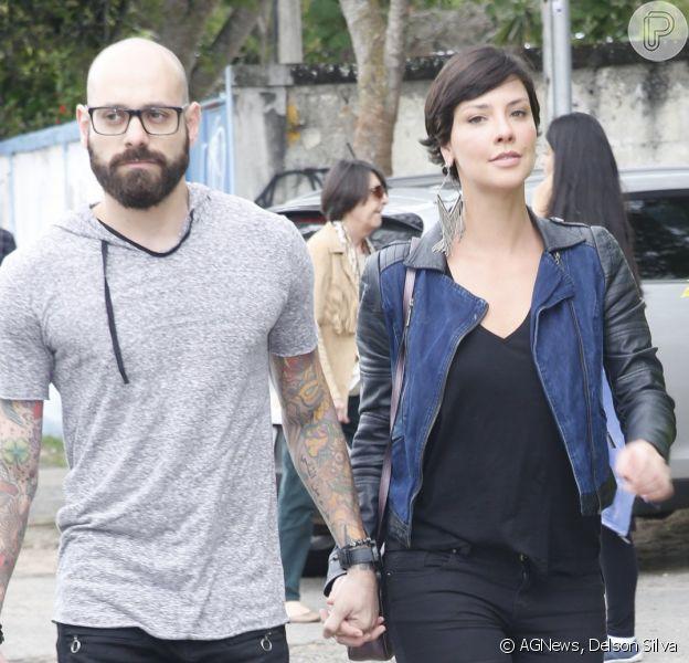 Camila Rodrigues é vista de mãos dadas com novo namorado, IghorPayola