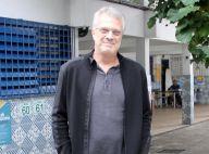 Pedro Bial vota em escola no Rio após se recuperar de cirurgia no coração. Fotos