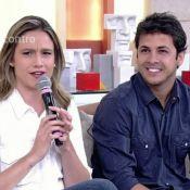 Fernanda Gentil posa com o ex-marido, Matheus Braga, e é elogiada: 'Um fenômeno'