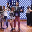 Fernanda Souza foi a convidada desta quinta-feira (12) do 'Vídeo Show'. A atriz lembrou seus tempos de 'Dança dos Famosos' e dançou uma música com o apresentador Zeca Camargo