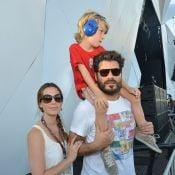 Thiago Lacerda e a mulher, Vanessa Lóes, vão ser pais de uma menina
