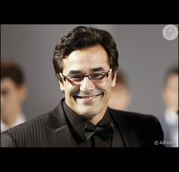 Luciano Szafir chega aos 45 anos nessa terça-feira, 31 de dezembro de 2013
