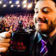 Danilo Gentili era apresentador do programa 'Agora É Tarde', na emissora