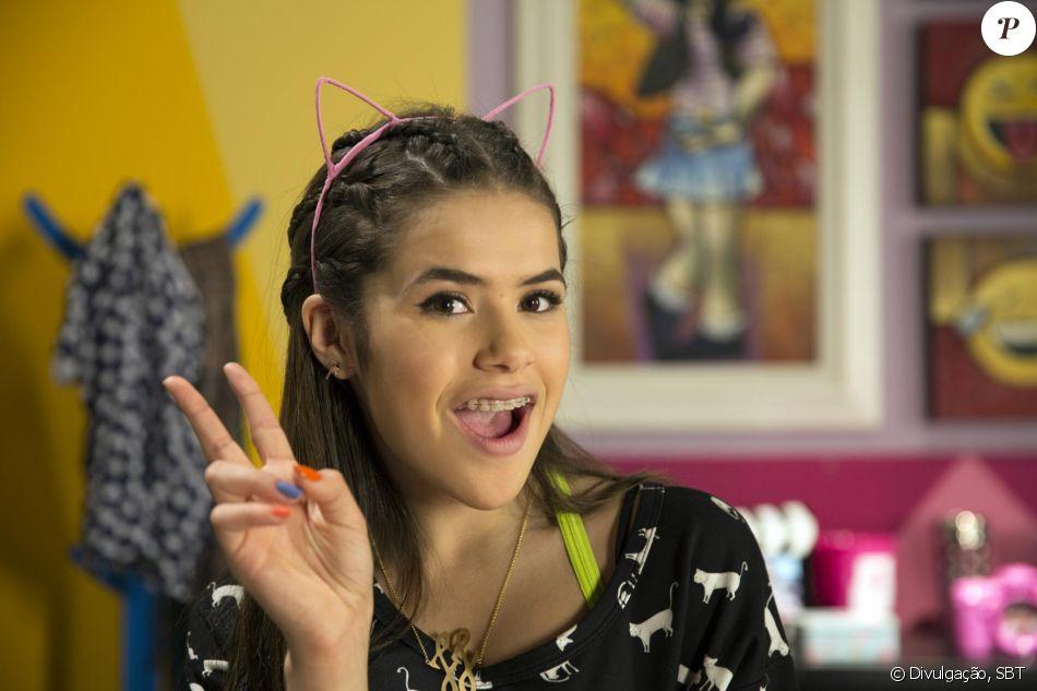 Na novela 'Carinha de Anjo', Maisa Silva vive a adolescente Juju, uma it-girl e aspirante a digital influencer