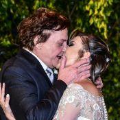 Veja fotos do 7º casamento de Fábio Jr.: cantor se casou com Fernanda Pascucci