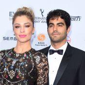 Grazi Massafera leva namorado, Patrick Bulus, ao Emmy e web elogia: 'Lindos'