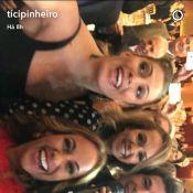 Ticiane Pinheiro canta hits de Daniel durante show em leilão. Veja vídeo!