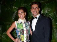 Cauã Reymond elogia Mariana Goldfarb na cozinha e com sua filha: 'Boadrasta'
