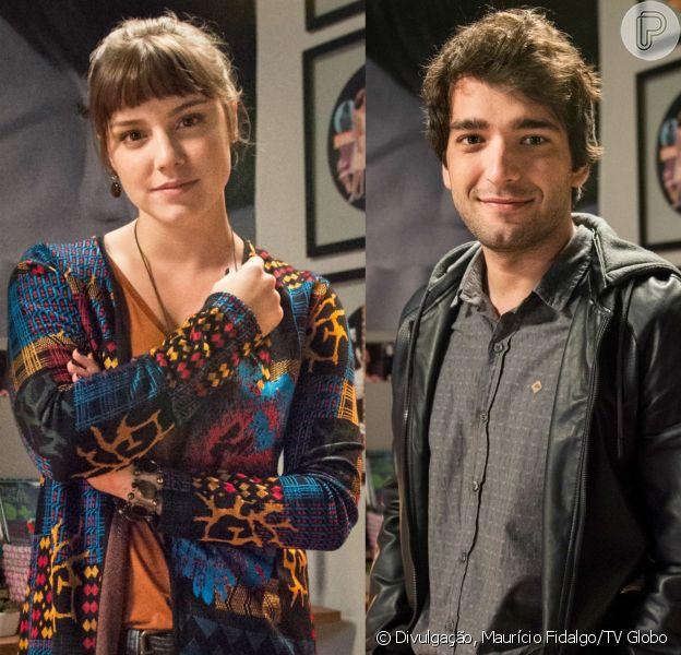 Isabela (Alice Wegmann) culpa Tiago (Humberto Carrão) por seu atentado e promete vingança, na novela 'A Lei do Amor': 'Transformar a vida desse cara num pesadelo'