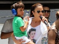 Ivete Sangalo sobre filho: 'Fala que eu sou a maior cantora de todos os tempos'