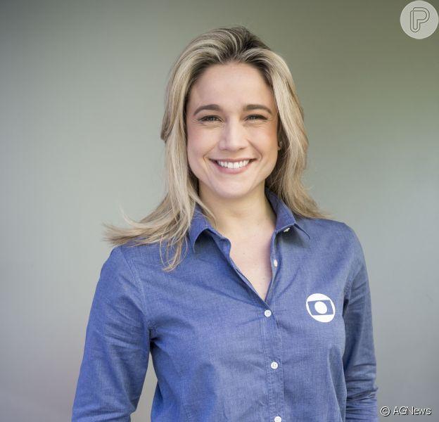 Fernanda Gentil avalia namoro Priscila Montadon em entrevista durante evento nesta quinta-feira, dia 24 de novembro de 2016