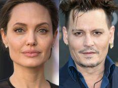 Angelina Jolie, separada de Brad Pitt, vive romance com Johnny Depp, diz jornal