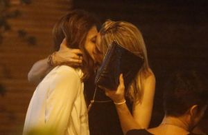 Fernanda Gentil ganha beijo da namorada em aniversário de 30 anos no Rio. Fotos!