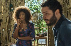 Novela 'Sol Nascente': Wagner conta a Júlia que está sendo ameaçado