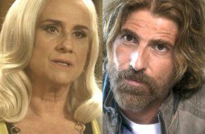 'A Lei do Amor': Mág agride Fausto e é ameaçada por Pedro. 'Te jogar na cadeia!'